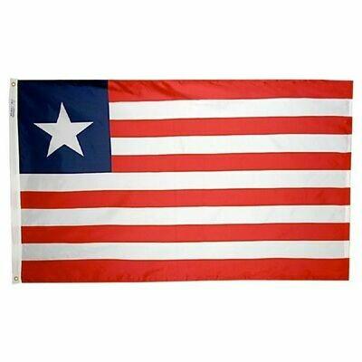 Liberian FLag - 2'x3' Nylon