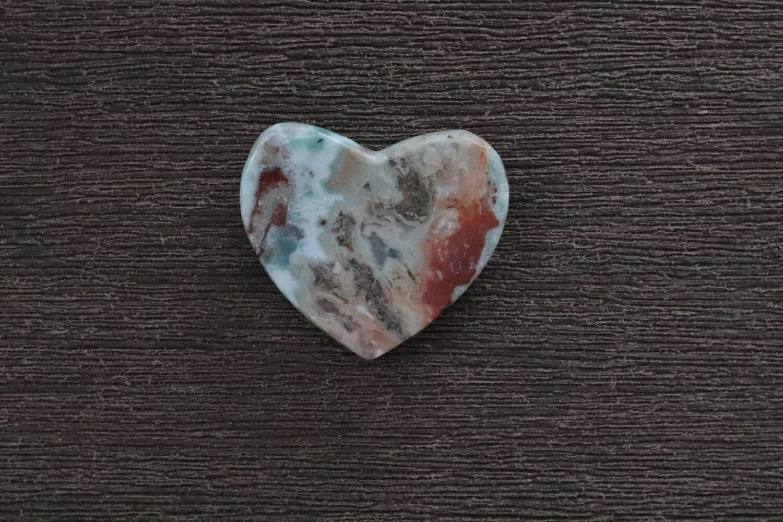 Larimar Heart mix