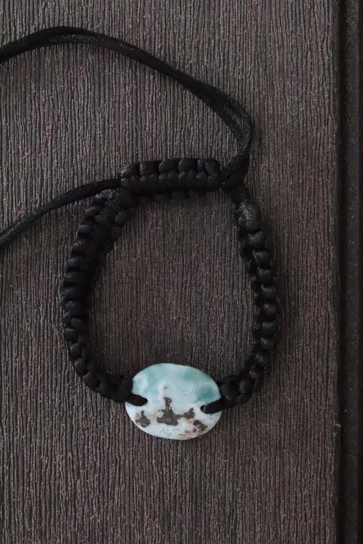 Larimar Bracelet Round
