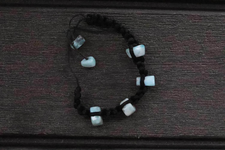 Larimar Bracelet Multistone