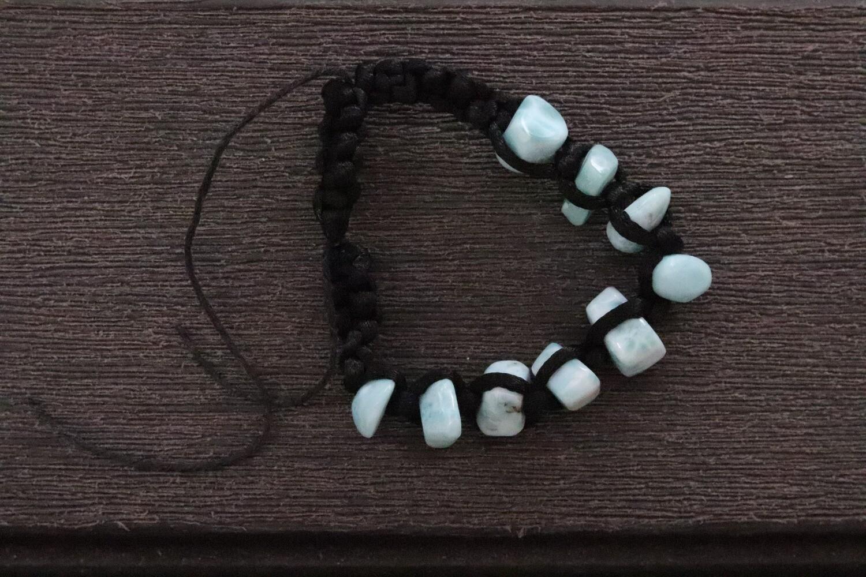 Larimar Bracelet Multi stone