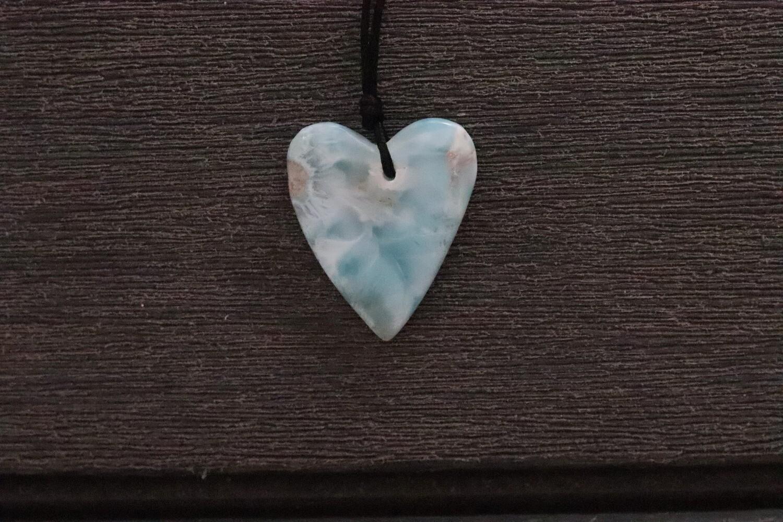 Larimar Skinny Heart