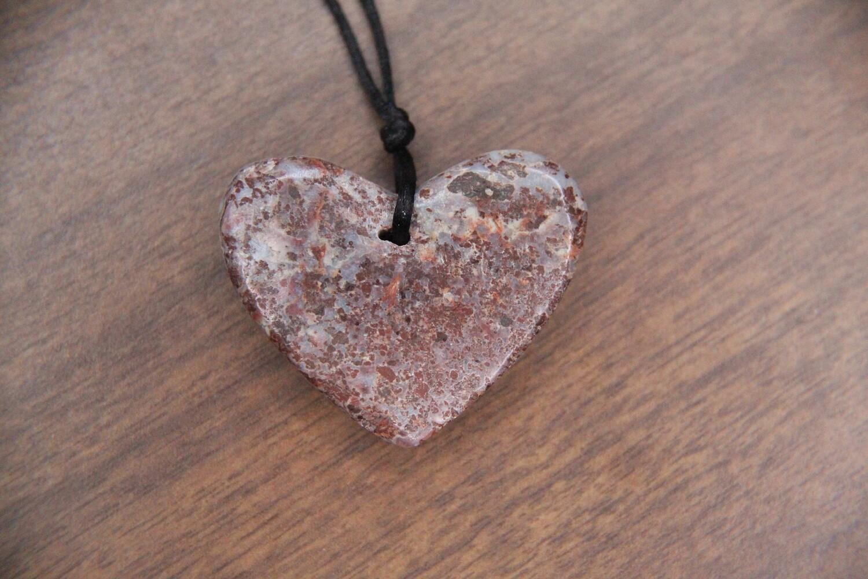 Larimar Copper Heart