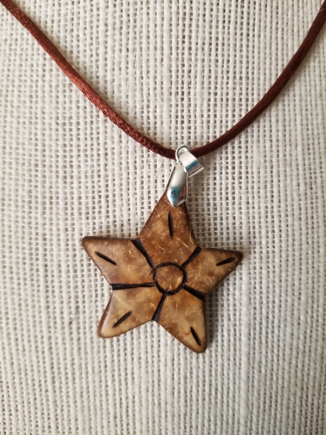Coconut Star Necklace