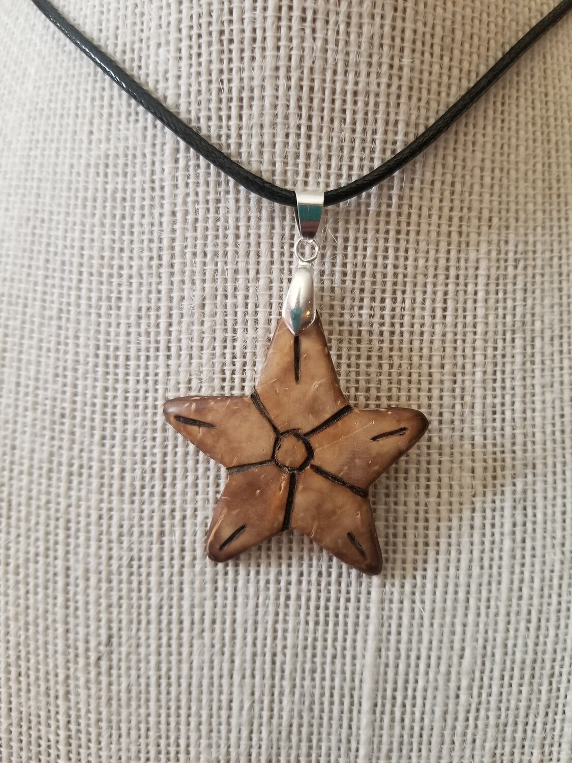 Coconut Star Necklace #2