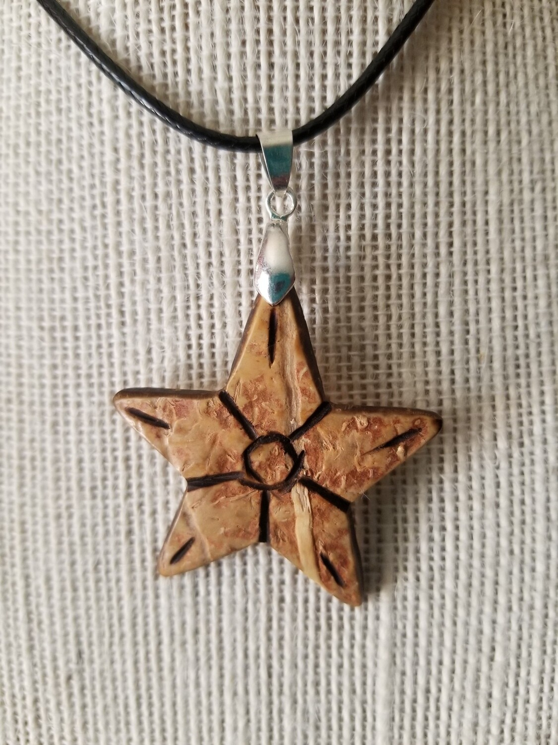 Coconut Star Necklace #3