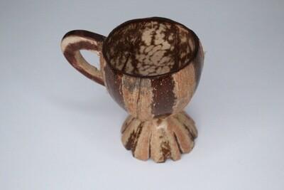 Decorative coconut cups