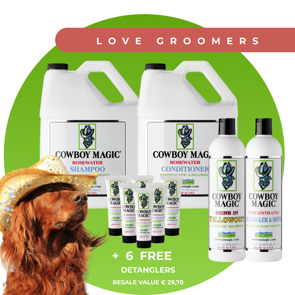 "Cowboy Magic ""Love Groomers"" Medium"