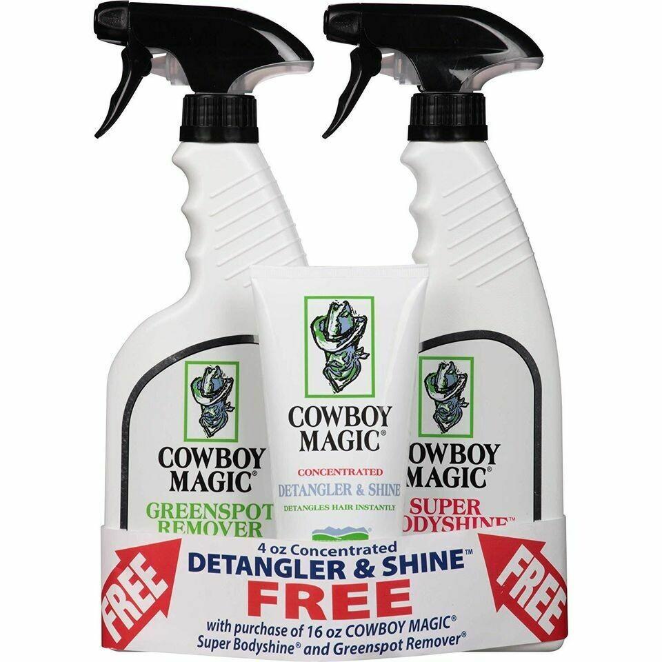 Cowboy Magic Bundle Set with FREE Detangler