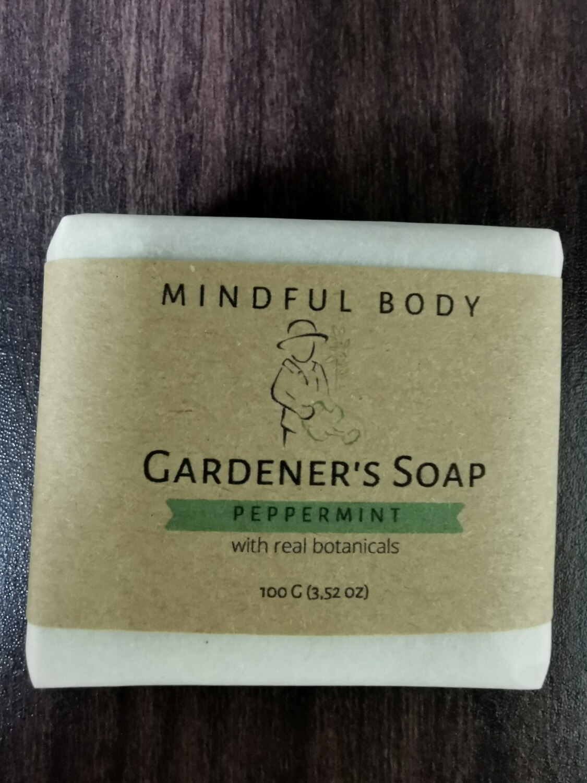 Peppermint Gardener's Soap