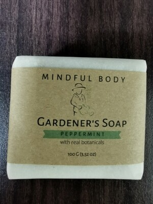 Peppermint Gardener's Soap