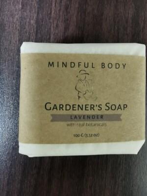 Lavender Gardener's Soap