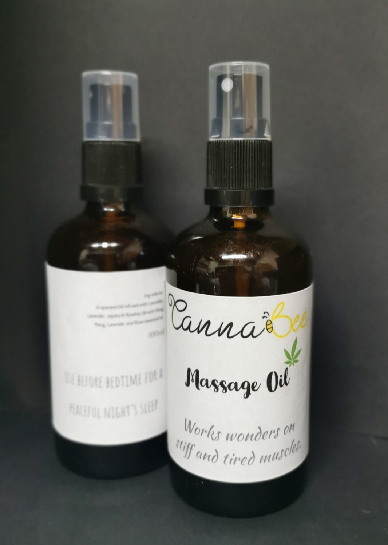 Cannabis Massage Oil 100ml