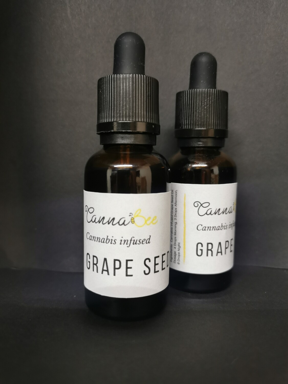 Cannabis Infused Grapeseed Oil 30ml