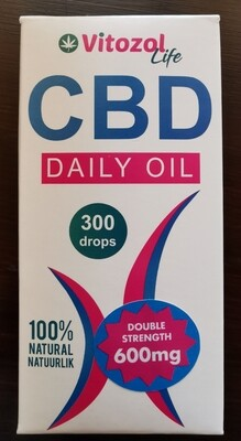 Vitozol CBD Daily Oil 600mg (for you)