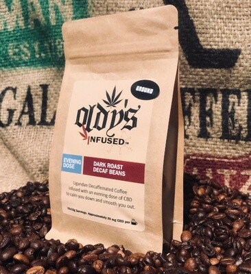 Oldy's Evening Dose CBD Coffee Decaf