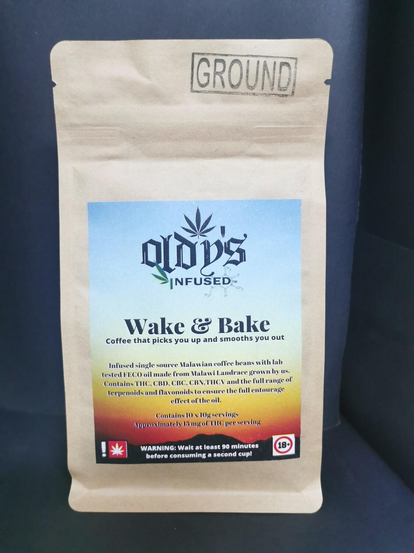 Wake & Bake THC Infused Coffee