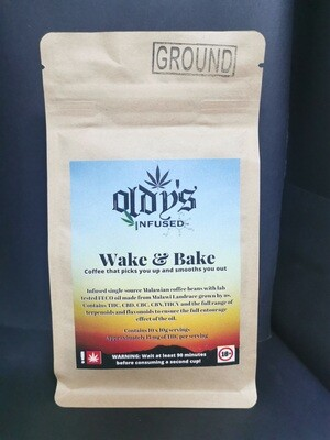 Wake & Bake THC Infused Coffee