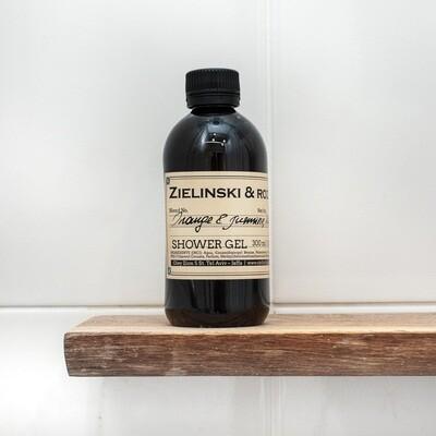 Shower gel Orange & Jasmine, Vanilla (300 ml)