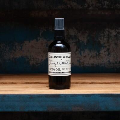 Body oil Orange & Jasmine, Vanilla (100 ml)