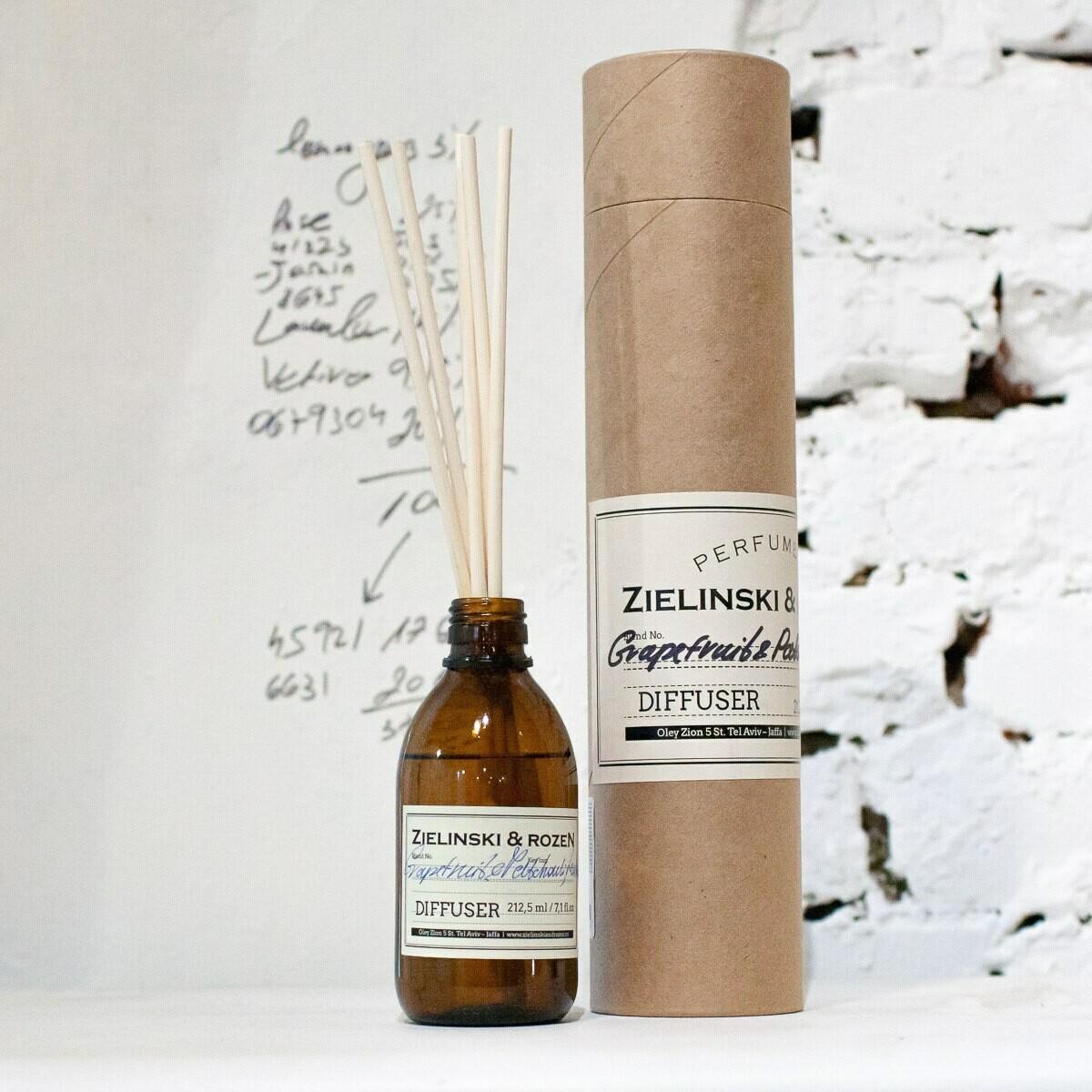 Диффузор для ароматерапии Грейпфрут, Пачули, Луиза (212,5мл)
