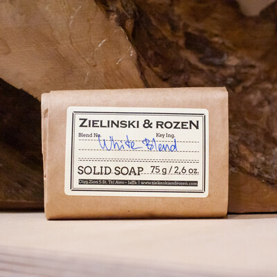 Твёрдое мыло WHITE BLEND (75гр)