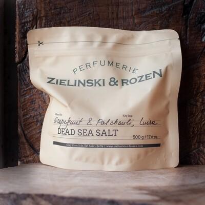 Соль Мертвого моря Грейпфрут, Пачули, Луиза (500гр)