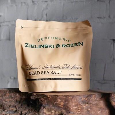 Dead Sea Salt Cedarwood & Sandalwood & Amber, Patchouli (500 g)