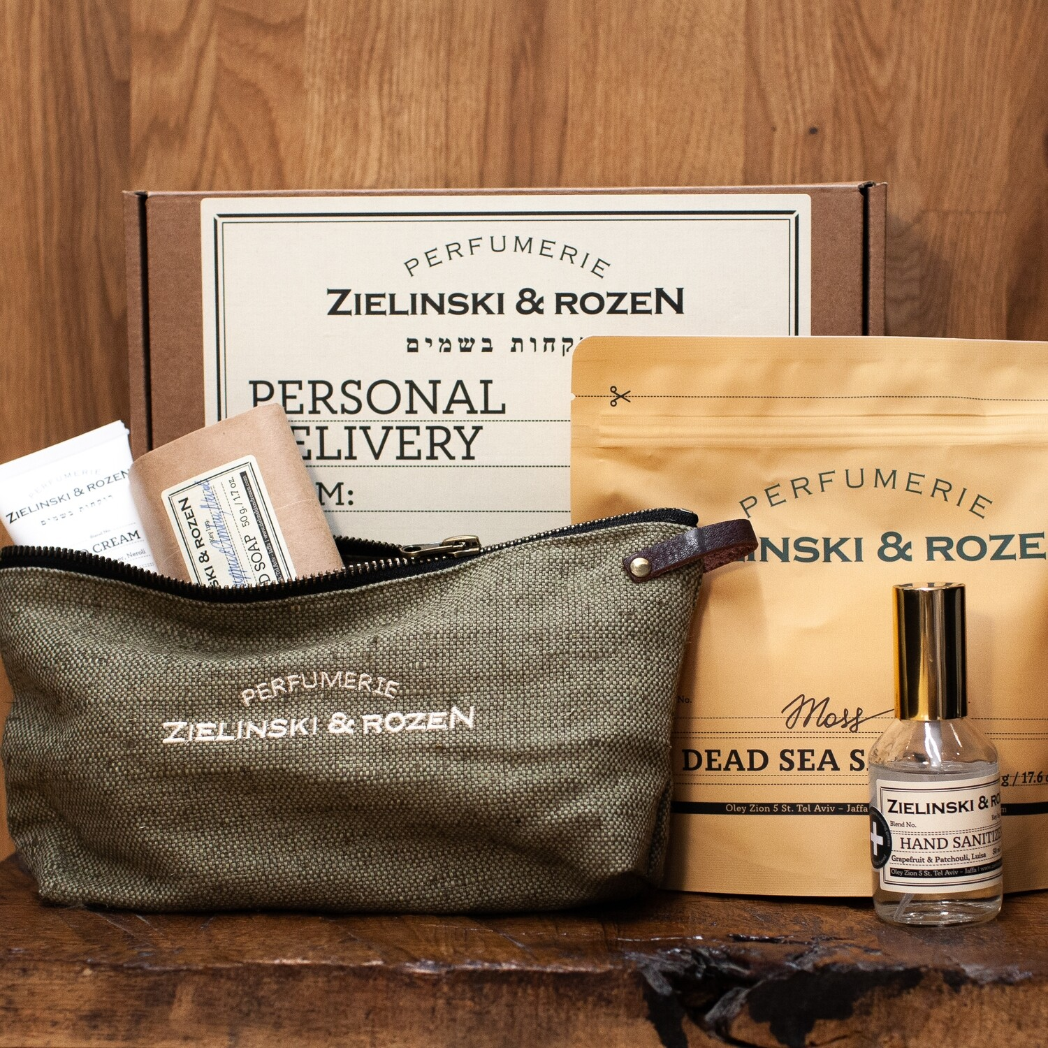 Gift set with travel bag №1