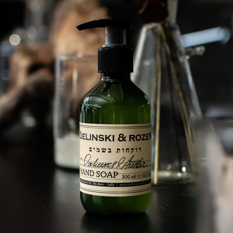 Жидкое мыло Дубовый мох, Амбра (300мл)