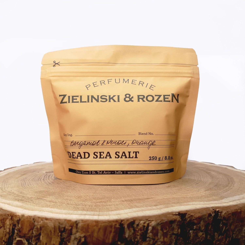 Соль мертвого моря Бергамот, Нероли, Апельсин (250гр)