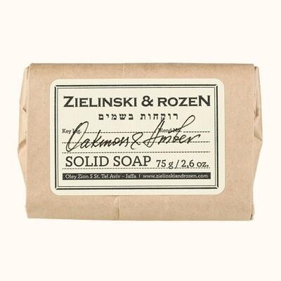 Solid soap Oakmoss & Amber (75 g)