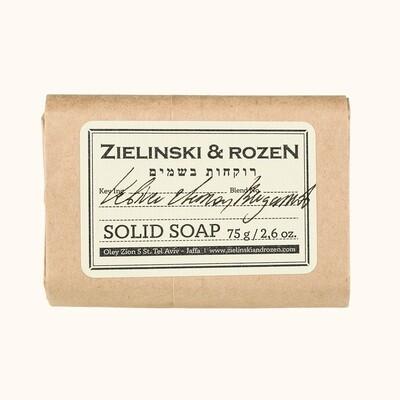 Solid soap Vetiver & Lemon, Bergamot (75 g)