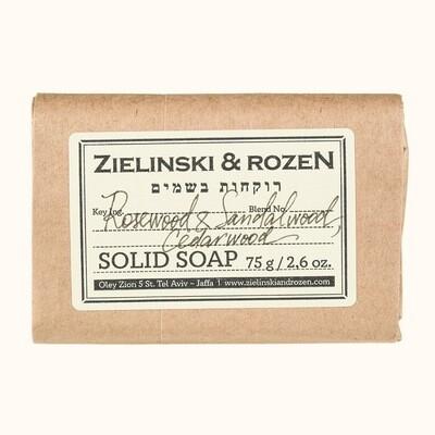 Solid soap Rosewood & Sandalwood, Cedarwood (75 g)