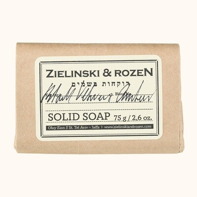 Solid soap Black Vetiver & Amber (75 g)