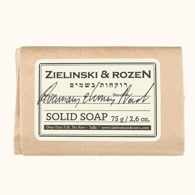 Solid soap Rosemary & Lemon, Neroli (75 g)