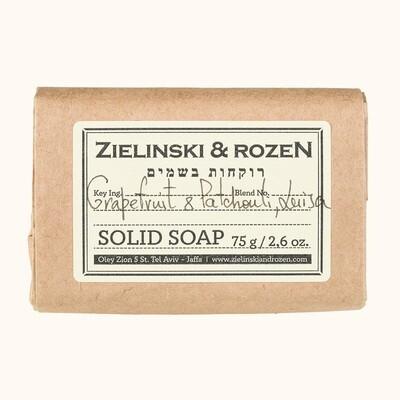 Solid soap Grapefruit & Patchouli, Luisa (75 g)