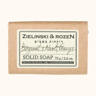 Solid soap Bergamot & Neroli, Orange (75 g)