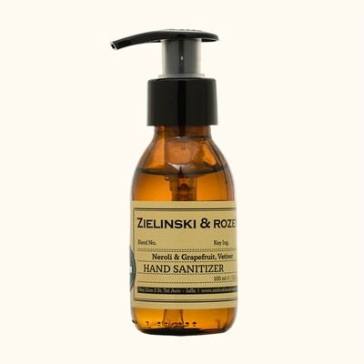 Hand gel antibacterial Neroli & Grapefruit, Vetiver (100 ml)