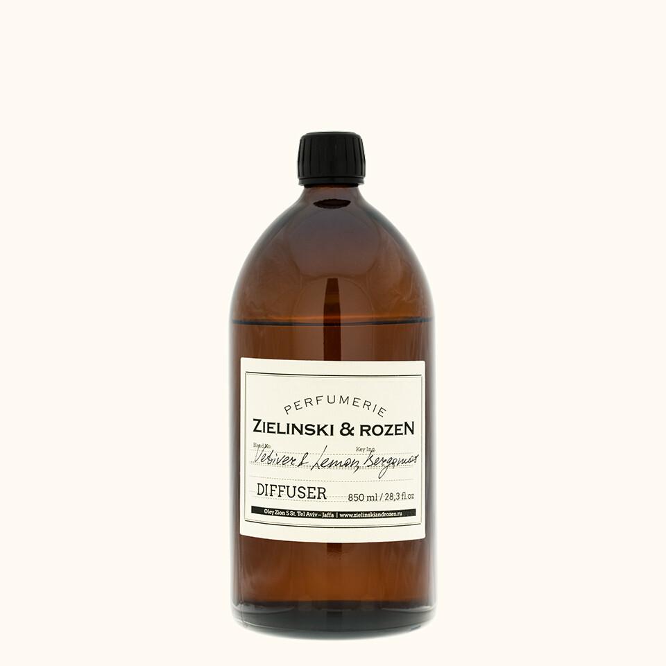 Диффузор для ароматерапии Ветивер, Лимон, Бергамот (850мл)