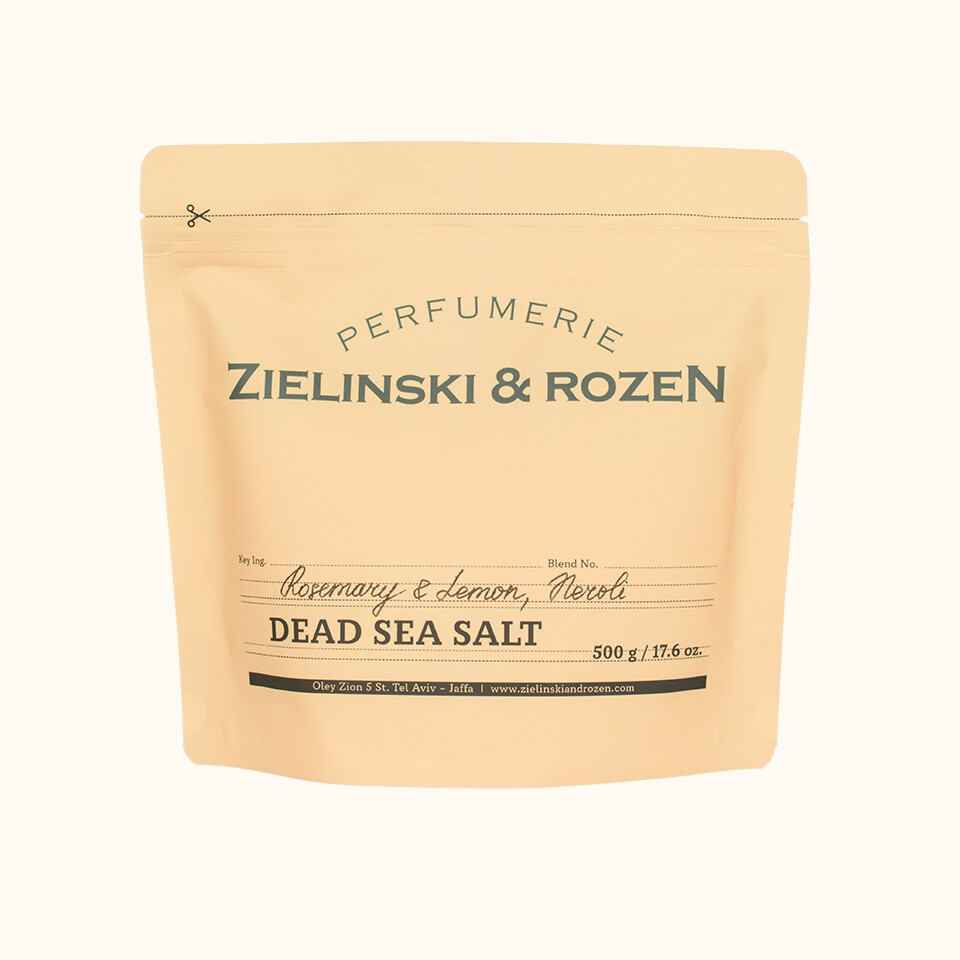 Соль Мертвого моря Розмарин, Лимон, Нероли (500гр)