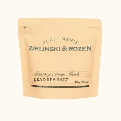 Dead Sea Salt Rosemary & Lemon, Neroli (500 g)