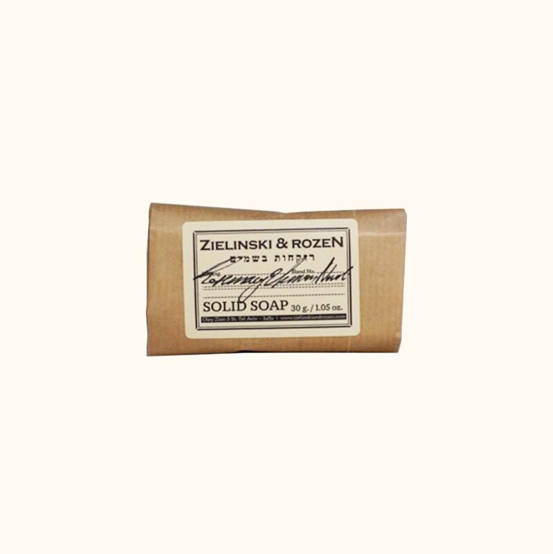 Solid soap Rosemary & Lemon, Neroli (30 g)