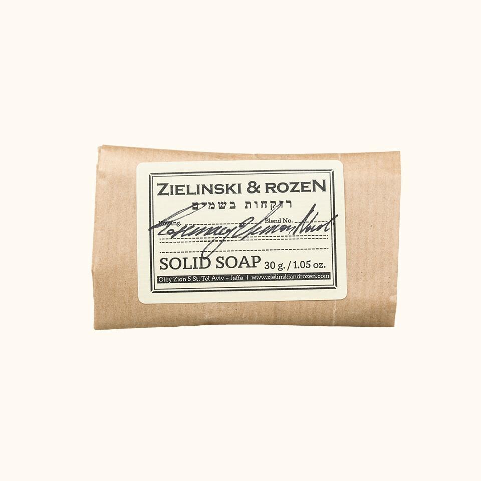 Твердое мыло Розмарин, Лимон, Нероли (30г)