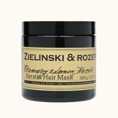 Кератиновая маска для волос Розмарин, Лимон, Нероли  (500мл)