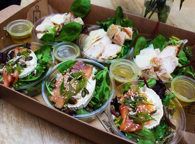 6 Mini Salad Mix Box