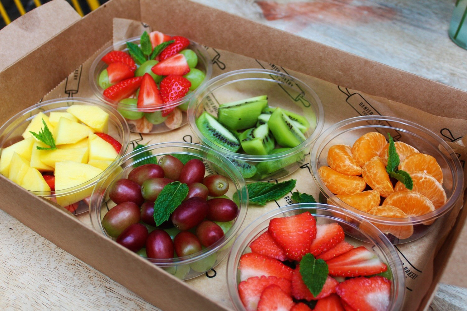 6 Seasonal Fruit Salad Mix Box