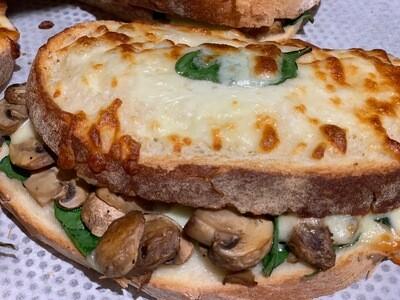 Croque Mushroom
