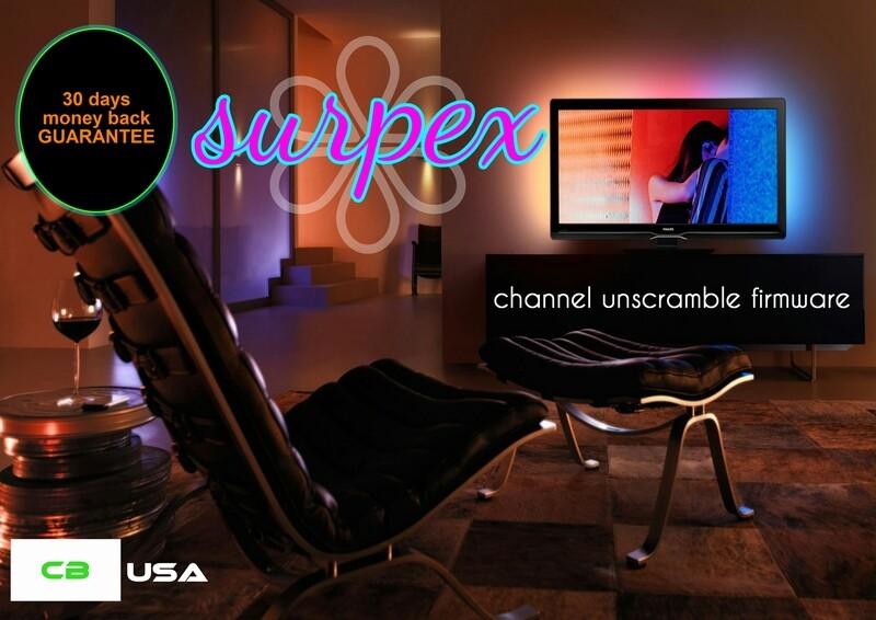 SURPEX Channel Unscramble Firmware LITE