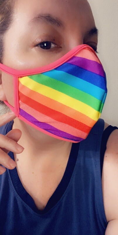 "PRIDE ""Rainbow"" FaceMask"